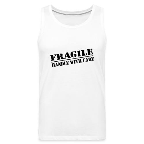 Fragile - Mannen Premium tank top