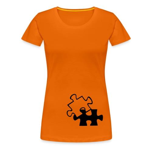 Shirt Puzzle - Frauen Premium T-Shirt