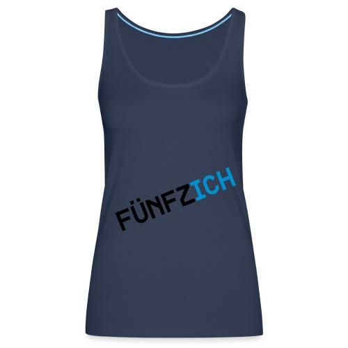 Tank petrol Fünfzich - Frauen Premium Tank Top