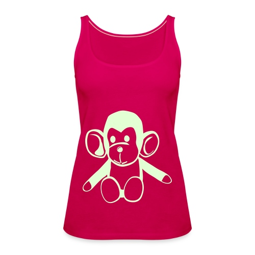 Monkey Strappy Tee - Women's Premium Tank Top