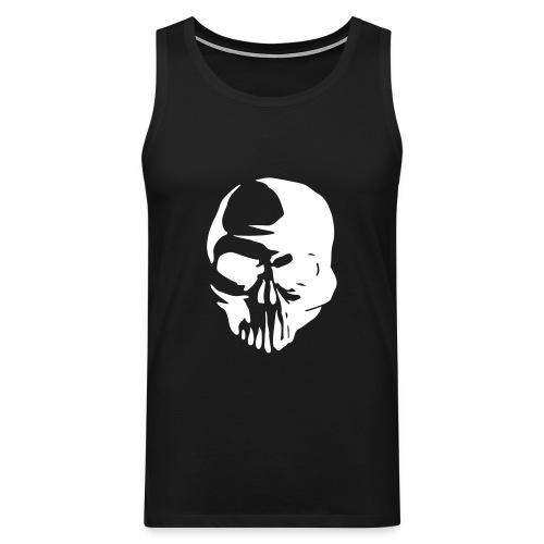 Skull - Premiumtanktopp herr