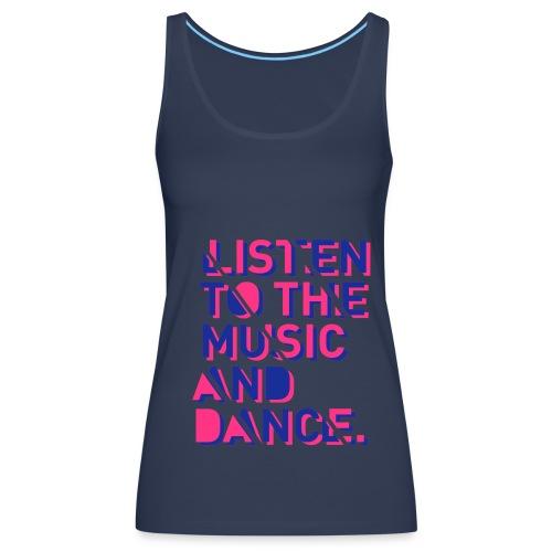 music - Women's Premium Tank Top