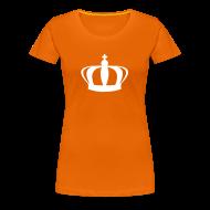 T-shirts ~ Vrouwen Premium T-shirt ~ Koninginnedag Kroon T-shirt