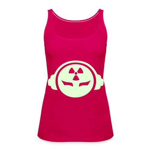 Radioactive DJ - Glow in the dark - Women's Premium Tank Top