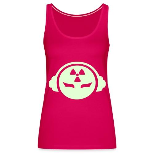 Radioactive DJ - Glow in the dark - Women's Premium Tank Top