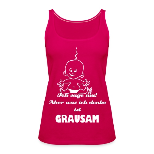 Damen Tank Top pink - Frauen Premium Tank Top