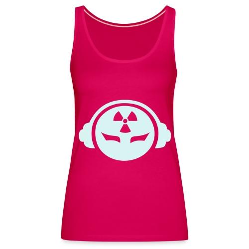 Radioactive DJ - Reflex - Women's Premium Tank Top