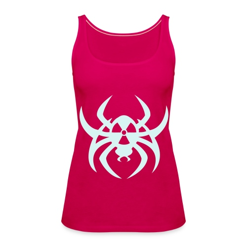 Radioactive spider - Reflex - Women's Premium Tank Top