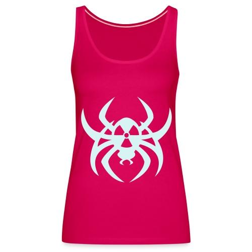 Radioactive spider - Reflex - Women's Premium Tank Top