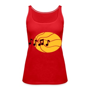 call me the dj - Tank top damski Premium