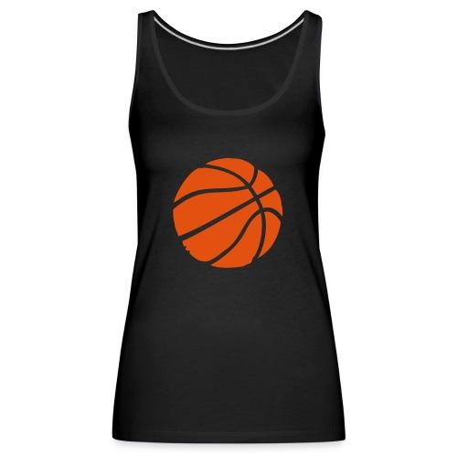 BasketBall - Débardeur Premium Femme