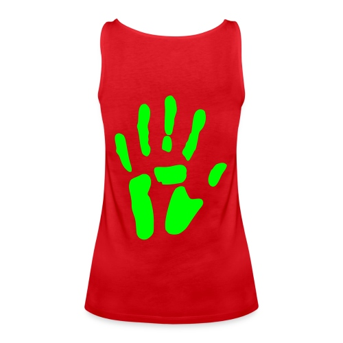 bloody heart - Frauen Premium Tank Top