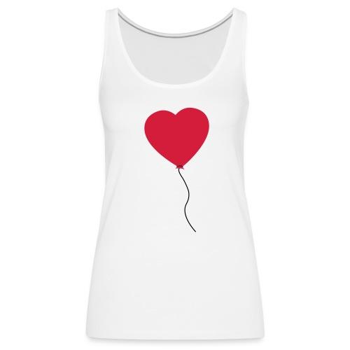 tanktop ballon - Vrouwen Premium tank top