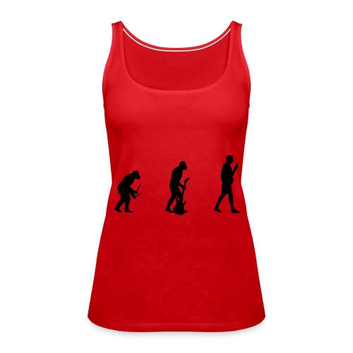 evolution of the band - Women's Premium Tank Top