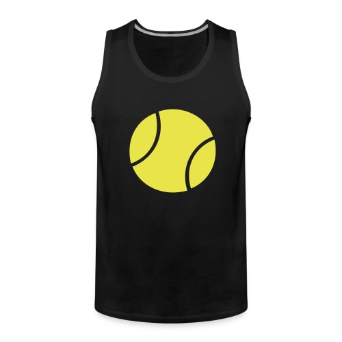 tennisball - Men's Premium Tank Top