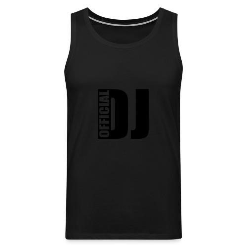 debardeur homme DJ - Débardeur Premium Homme