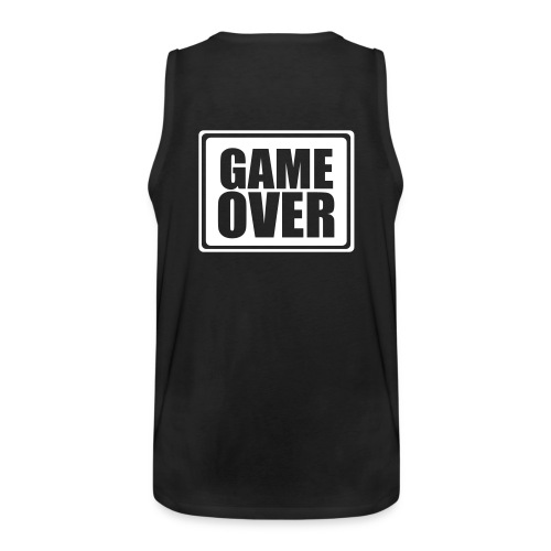 game over - Premiumtanktopp herr