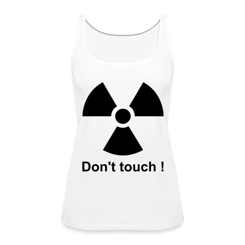 totally radio-active - Tank top damski Premium