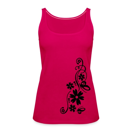 Flowers - Frauen Premium Tank Top