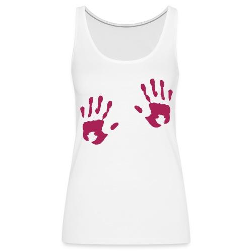 Kädet - Naisten premium hihaton toppi