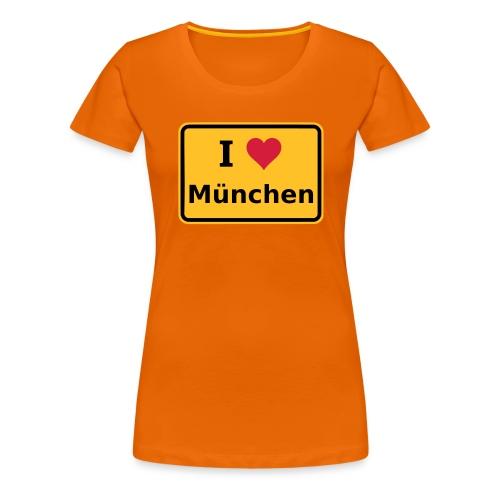 I Mog Minga - Frauen Premium T-Shirt