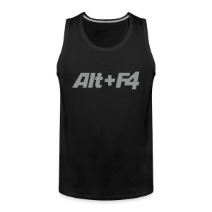 Shirt Alt F4 Men - Männer Premium Tank Top
