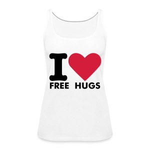 I love free hugs - Women's Premium Tank Top