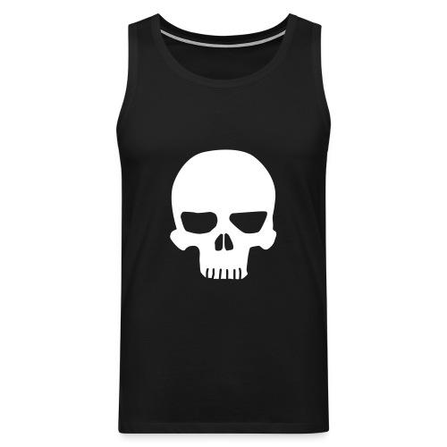 Skull Hihaton - Miesten premium hihaton paita