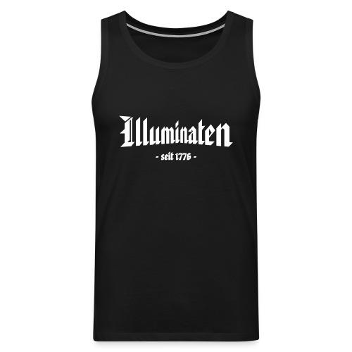Männer Muskelshirt Illuminaten - Männer Premium Tank Top