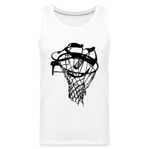 Basket - Tank top męski Premium
