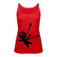Tops ~ Women's Premium Tank Top ~ vodoo doll