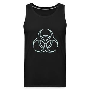 Biohazard Lines - Reflex - Premiumtanktopp herr