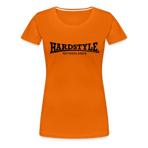 Hardstyle Netherlands - Black - Women's Premium T-Shirt
