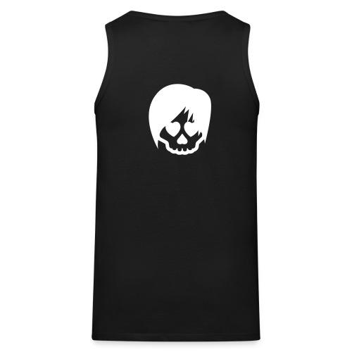 Ärmelloses T-Shirt Emuskull Aufdruck Rückseite - Männer Premium Tank Top
