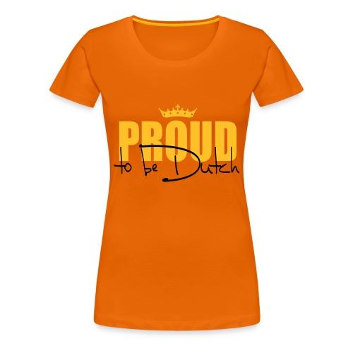 De Trots - Vrouwen Premium T-shirt
