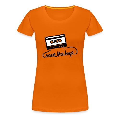 Save the Tape - Maglietta Premium da donna