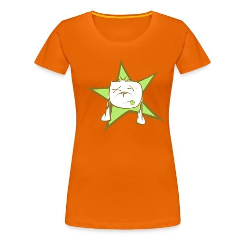 Style: Rozana's Glowing Orange - Frauen Premium T-Shirt