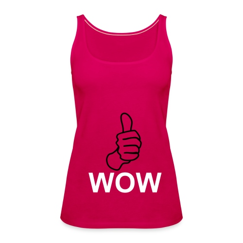 wow - Women's Premium Tank Top