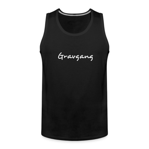 Gravgang - New Design! - Men's Premium Tank Top