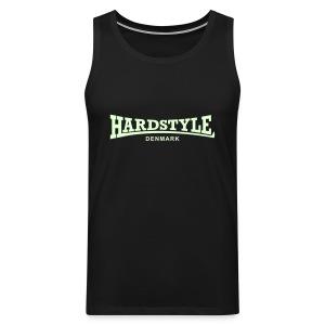 Hardstyle Denmark - Glow in the dark - Men's Premium Tank Top