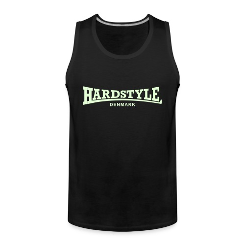 Hardstyle Denmark - Glow in the dark - Men's Premium Tank Top