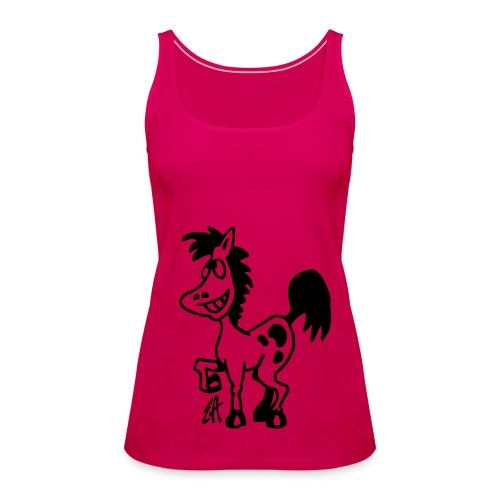 Funky Rider t-shirt collection - Women's Premium Tank Top