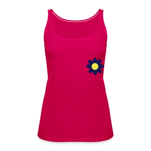 flower top x - Women's Premium Tank Top