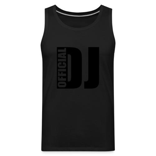 Official DJ Tank Top - Men's Premium Tank Top
