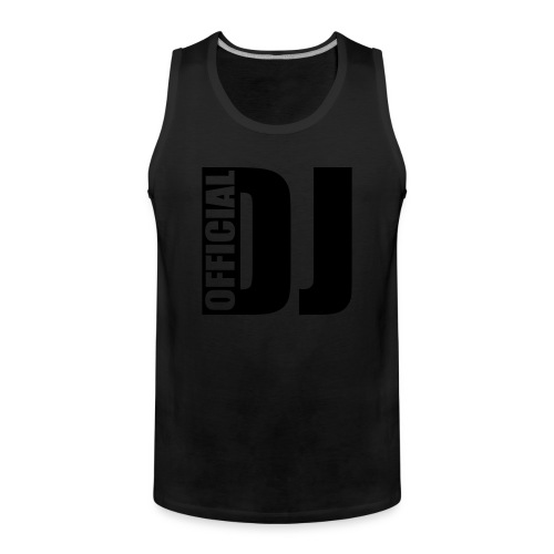 Official DJ Tank Top - Men's Premium Tank Top
