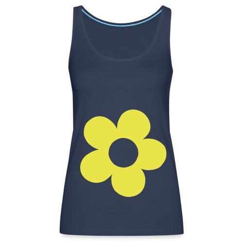 Flower T-shirt - Women's Premium Tank Top