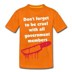 Don't Forget to Be Cruel - Teenage Premium T-Shirt