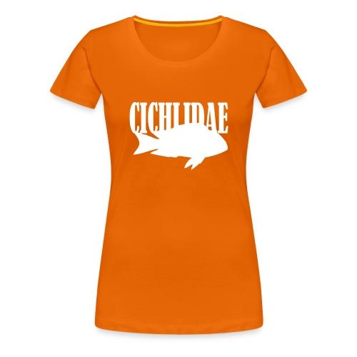 Cichlidae for jenter - Premium T-skjorte for kvinner
