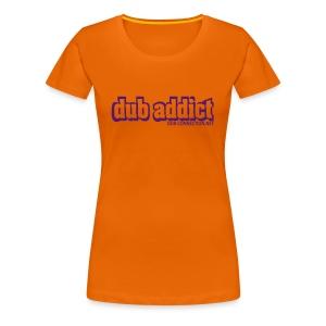 Lady's fit dub-addict - Women's Premium T-Shirt