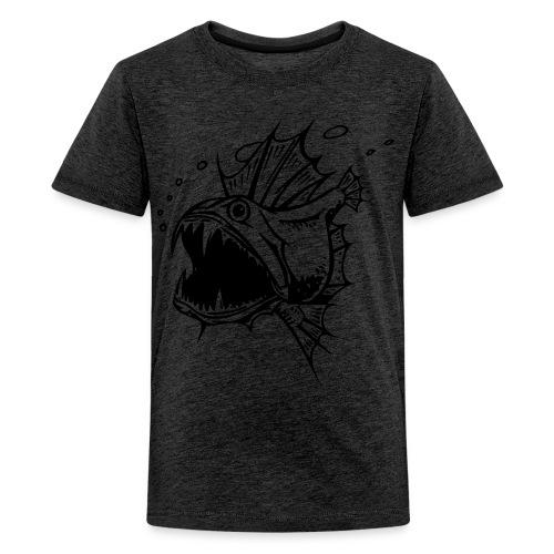 Piranha Kinder Shirt - Teenager Premium T-Shirt